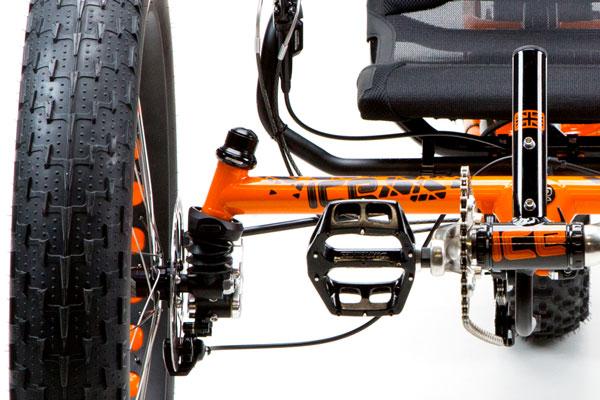 ICE Full Fat Trike: супернадёжные конструкции.