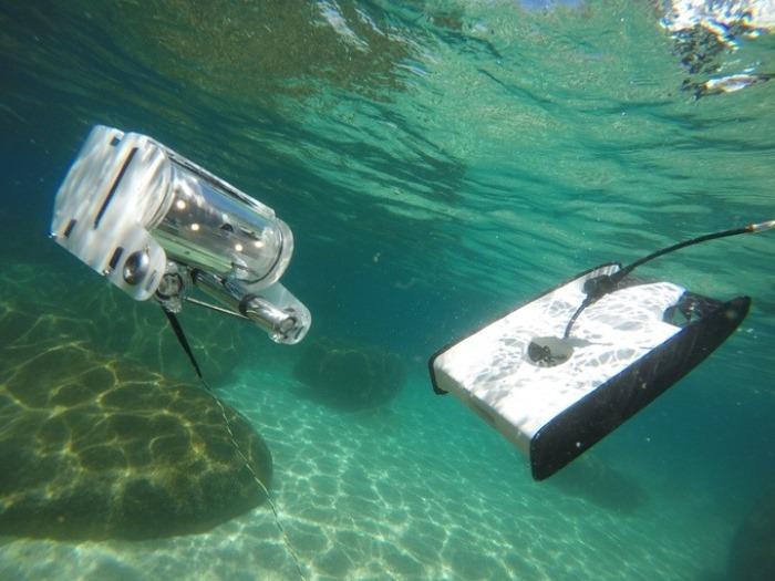Подводный дрон Trident ROV.