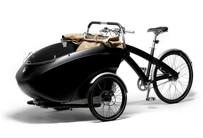 Многофункциональный велосипед Triobike.