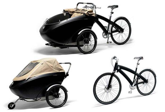 Велосипед-трансформер Triobike.