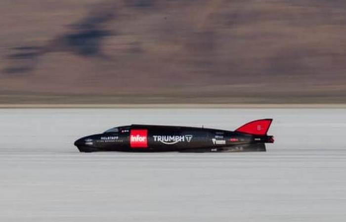 Мотоцикл Rocket Streamliner Infor.