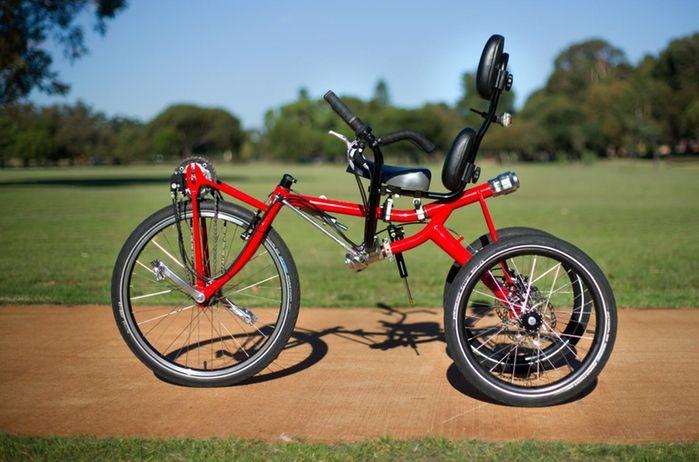 Trivek - самый удобный в мире велосипед.