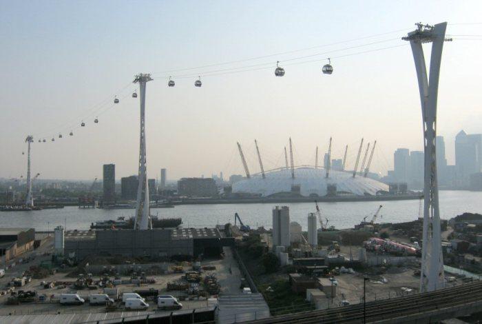 Лондонская подвесная дорога Emirates Air Line.
