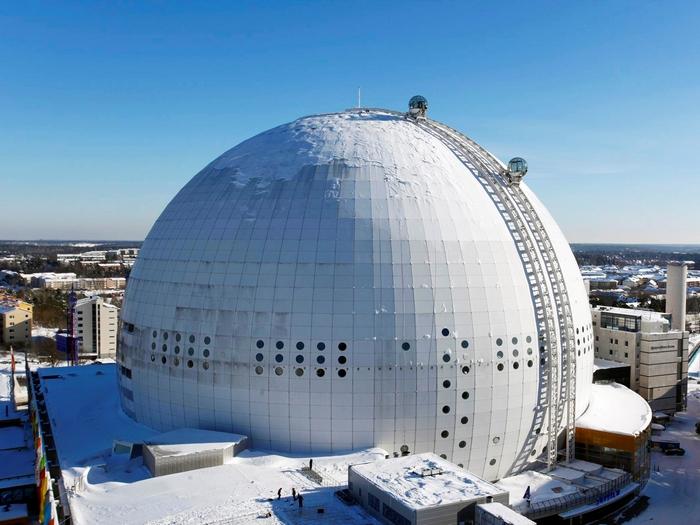 SkyView: Стокгольм с высоты птичьего полёта.