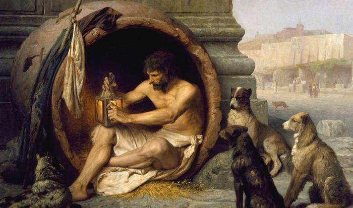 Диоген прослыл бы сегодня величайшим троллем.