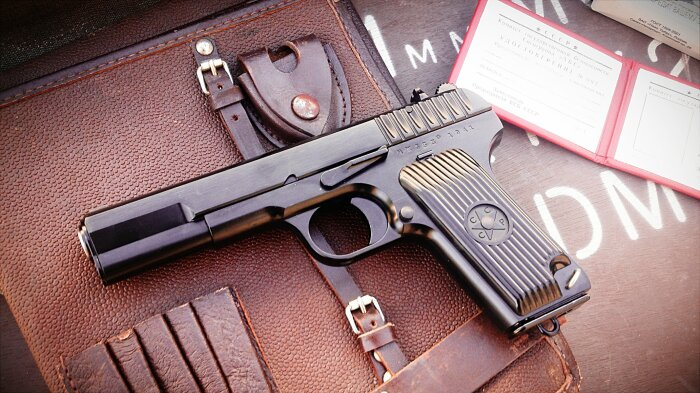 Для нужд милиции ТТ подходил слабо. |Фото: w-dog.ru.