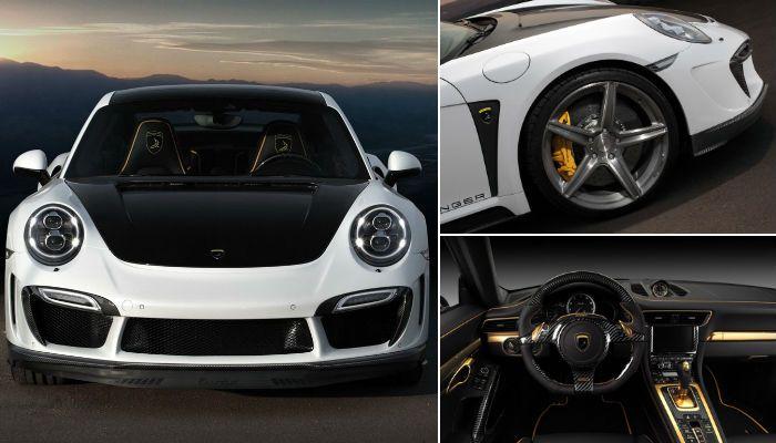 Редизайн спорткара Porsche по-русски.