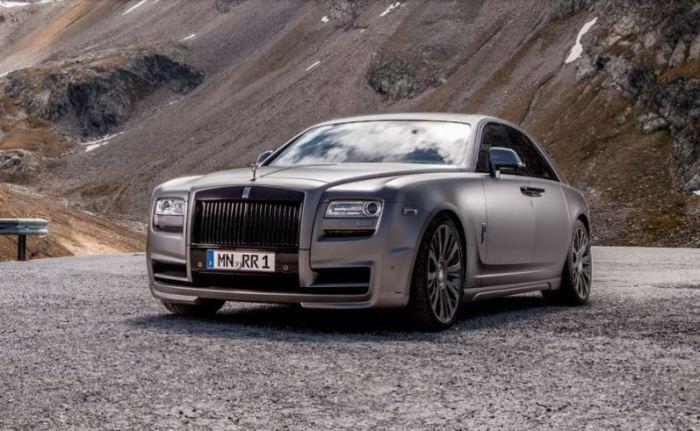 Потрясающий Rolls-Royce Ghost стоит своих денег.