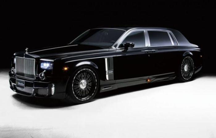 Шикарный Rolls-Royce Phantom.