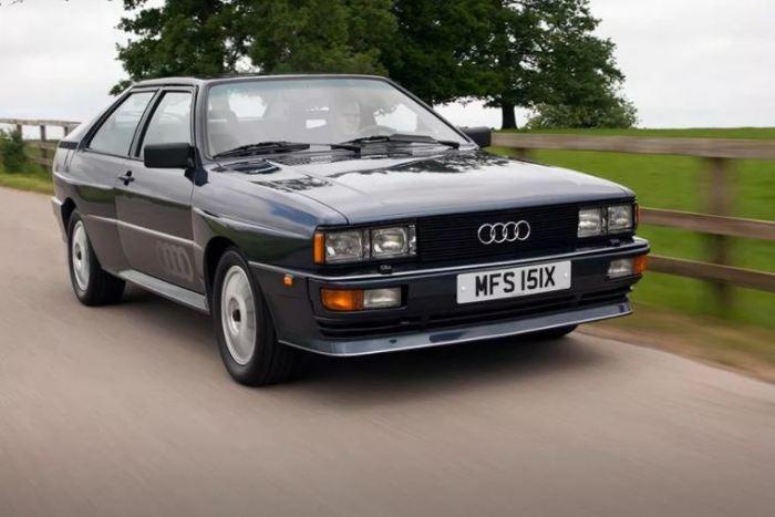 Внушительный Audi Quattro, который завоевал сердца автомобилистов.