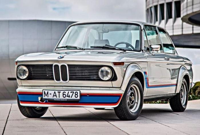 Немецкая гордость BMW 2002 Turbo.