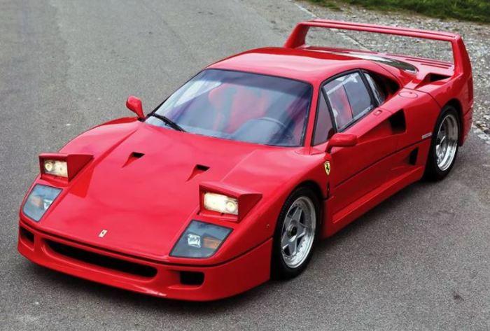 Мечта коллекционера Ferrari F40.