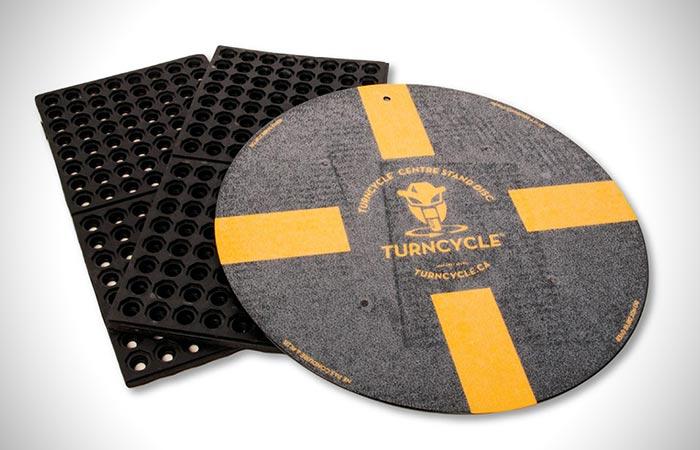 TurnCycle: диск + коврики.