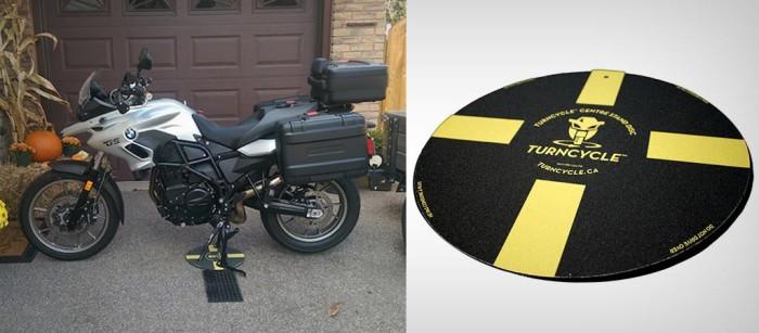 TurnCycle - удобное решение для мотоциклистов.