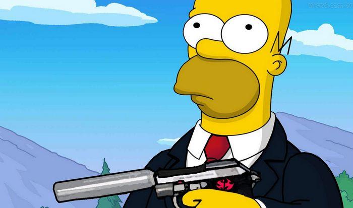 Гомер Симпсон.