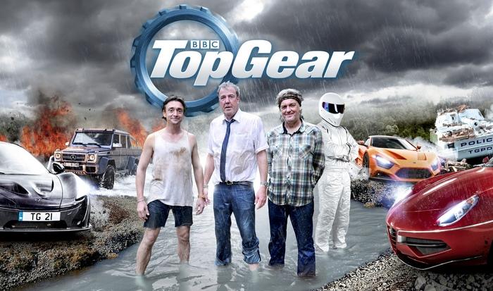Команда Top Gear.