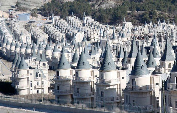 Как турки строили элитный котеджный поселок.