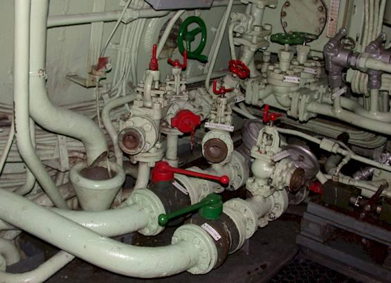 Часть двигательной установки.