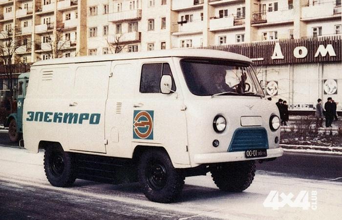 Электромобиль УАЗ-451.