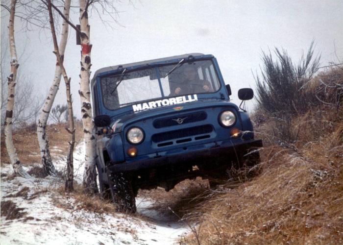 Итальянская модификация УАЗ Martorelli.