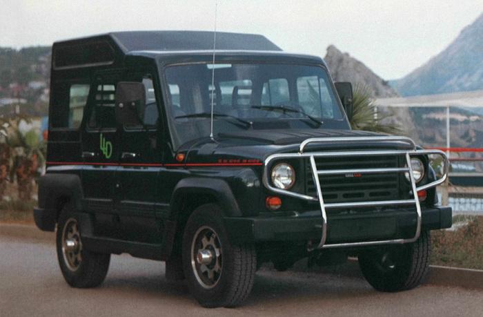 Модель УАЗ-31512 ЛЛД для путешествий.