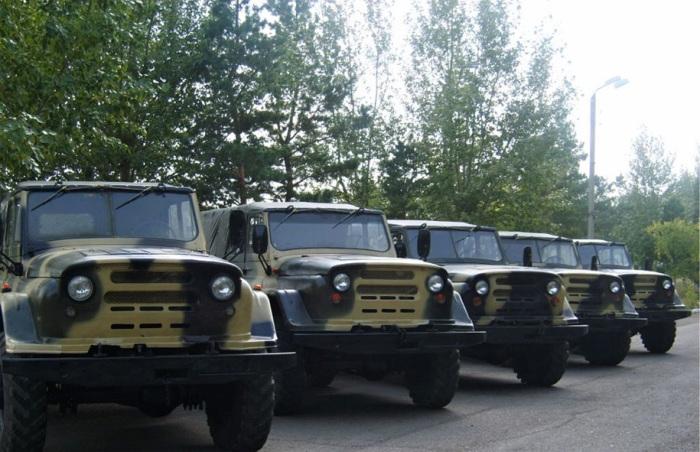 Интересный армейский УАЗ Барс 01.