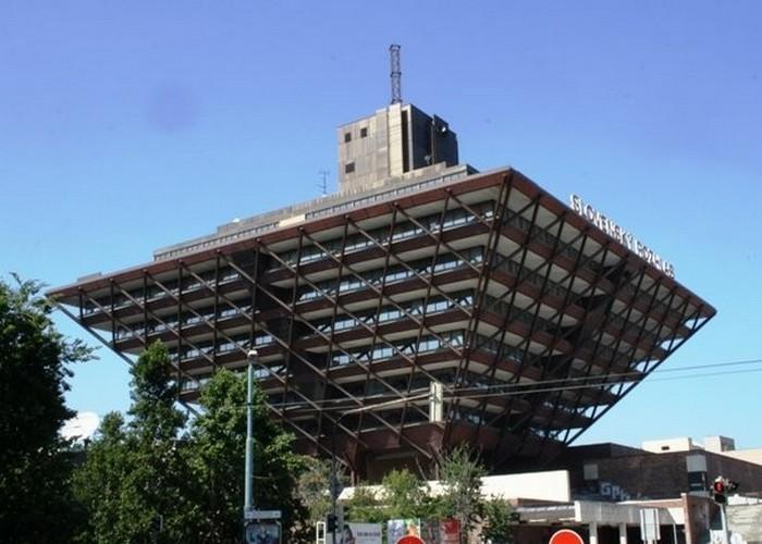Здание Словацкого радио.