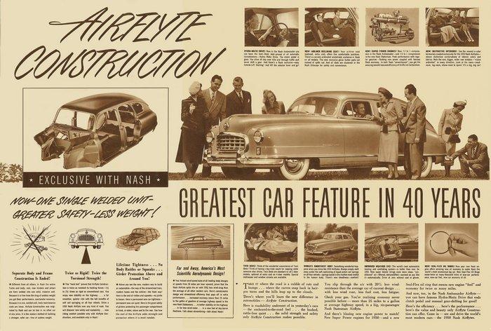 Nash Airflyte (1950 г.в.)