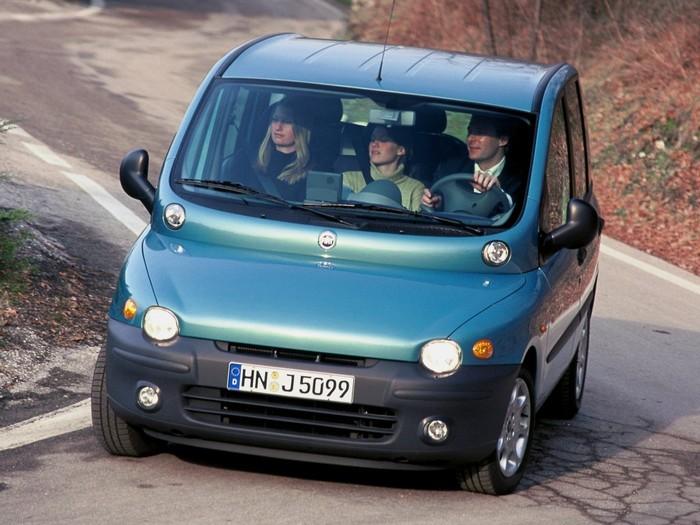 Fiat Multipla (1998 г.в.).