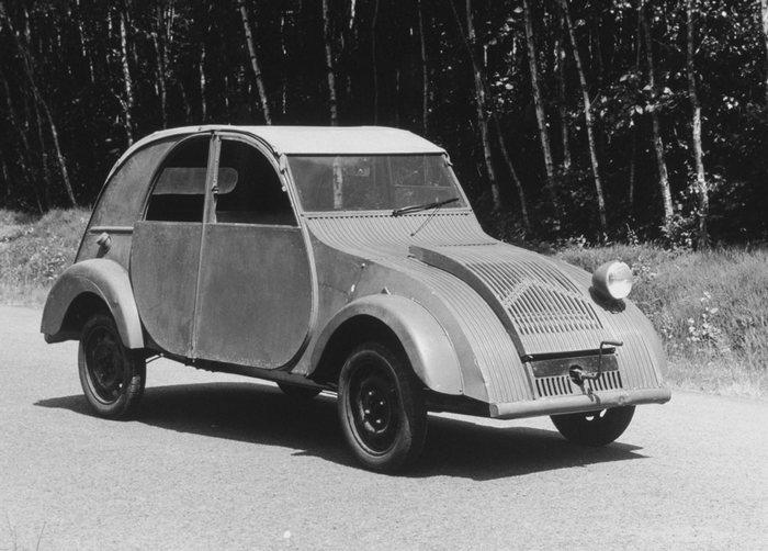 Citroen 2CV (1948 г.в.)