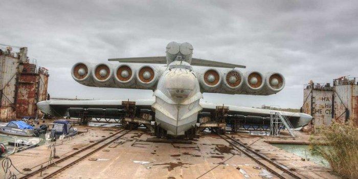 Советский экраноплан «Лунь» и другое невероятное оружие.
