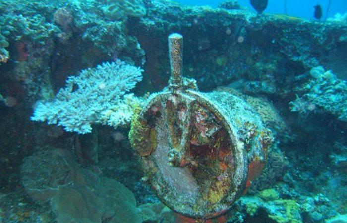 Под водой: призрачный флот.