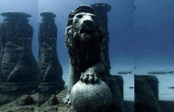 Дворец Клеопатры, Александрия.