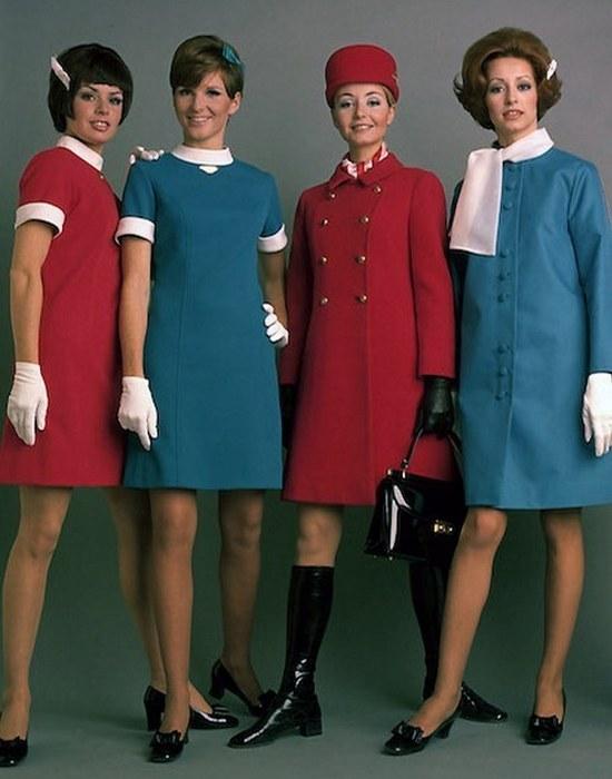 Униформа сотрудников «Air Canada».