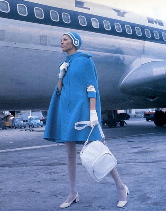 Униформа сотрудников «Olympic Airways».