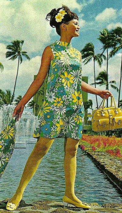 Униформа сотрудников «Hawaiian Airlines».