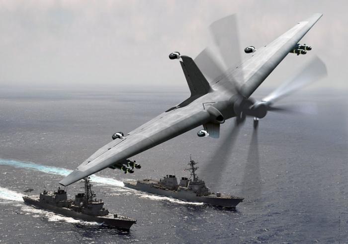 Уникальный дрон Tern.