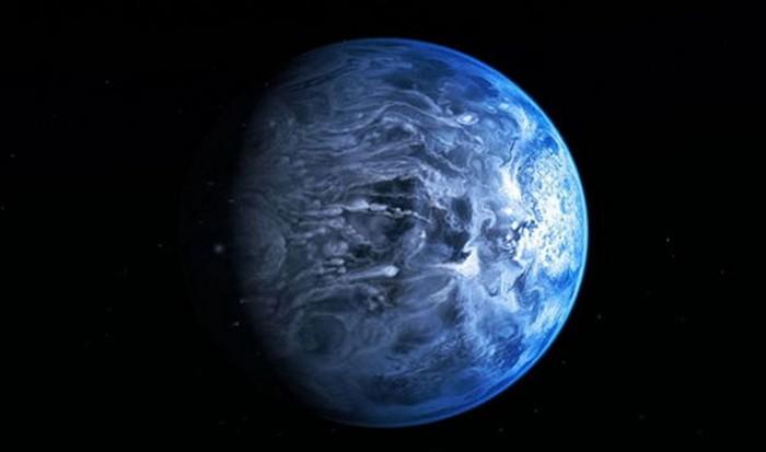 Интересный факт о Вселенной: планета HD189733b.