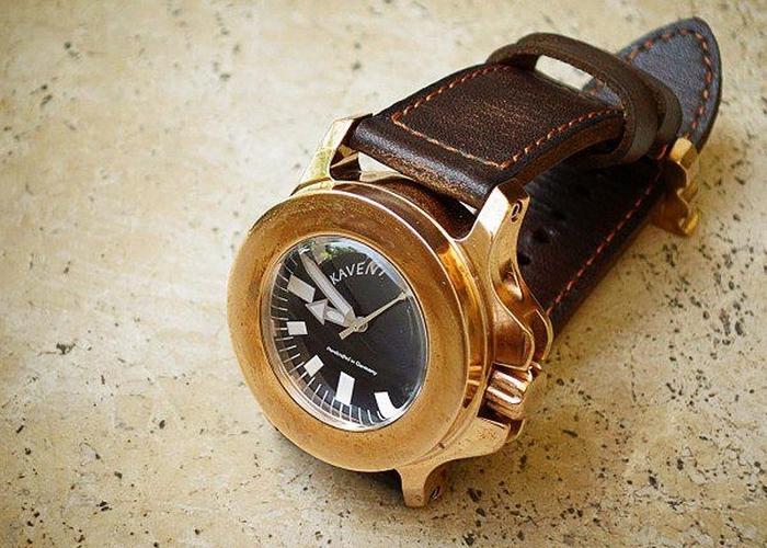 Крепкая вещь: часы «KAVENTSMANN Triggerfish Bronze A2».