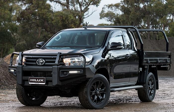 Крепкая вещь: грузовик Toyota Hilux.