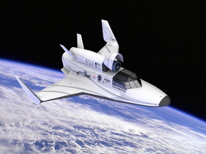 Космолёт XCOR Aerospace.