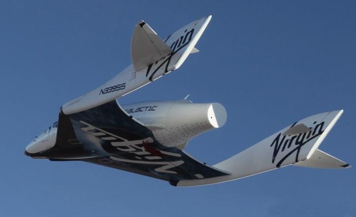 Virgin Galactic: полёты на высоте 110 км.
