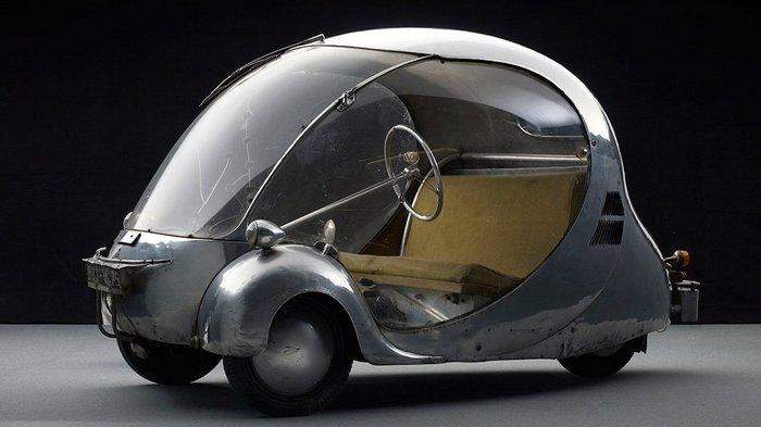 Автомобиль Oeuf electrique.