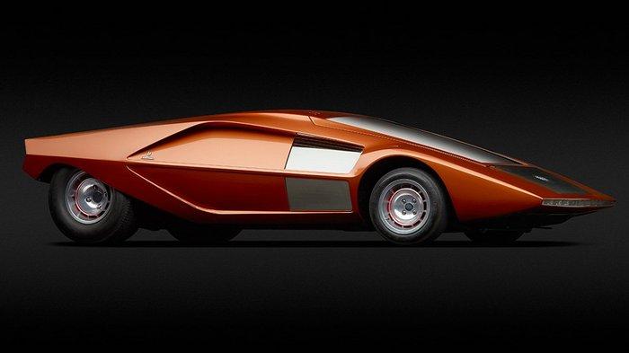 Автомобиль Lancia (Bertone) Stratos HF Zero.