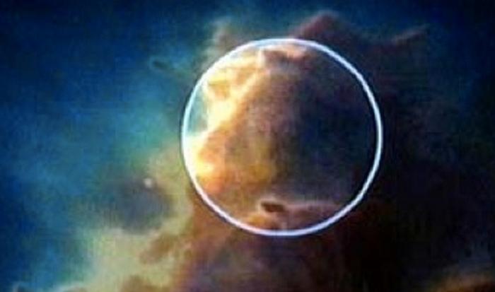 Удивительный факт: лицо в облаках.