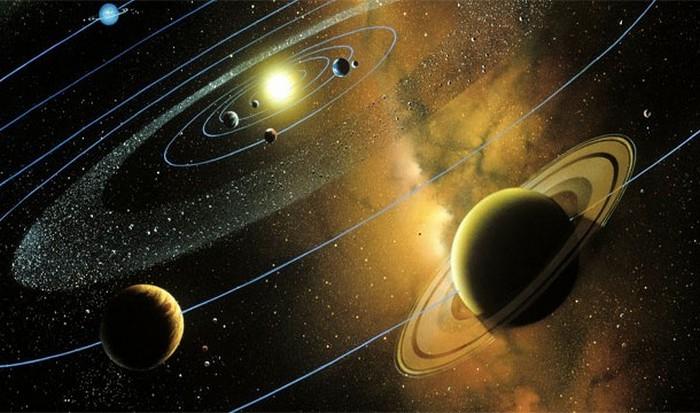 Удивительный факт: солнечная система.