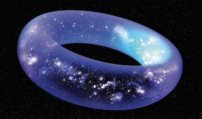 Удивительный факт: форма Вселенной.