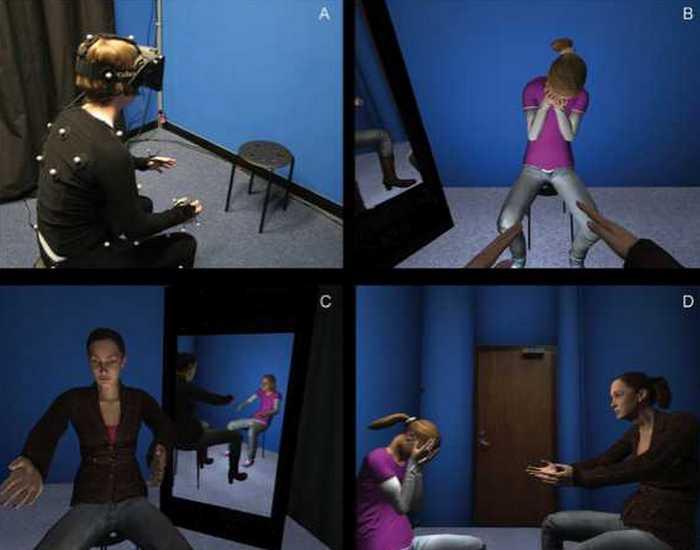 Виртуальная реальность для лечения депрессии.