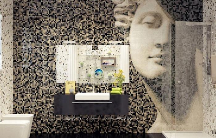 Необычная домашняя мозаика: «Античные мотивы».