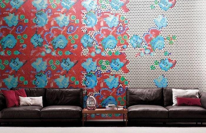 Необычная домашняя мозаика от дизайнера Паола Навоне.